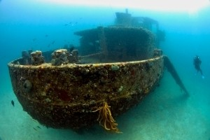 Anguilla Wreck Diving