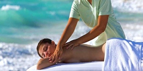 Beach massage Anguilla