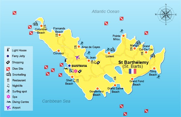 Best Island Beaches For Partying Mykonos St Barts: Welcome To Saint Barthelemy